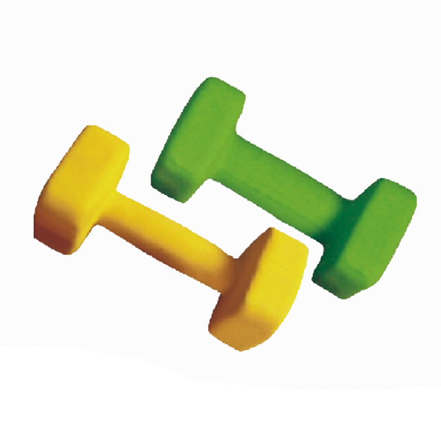Quadrate End Neoprence Dumbbell